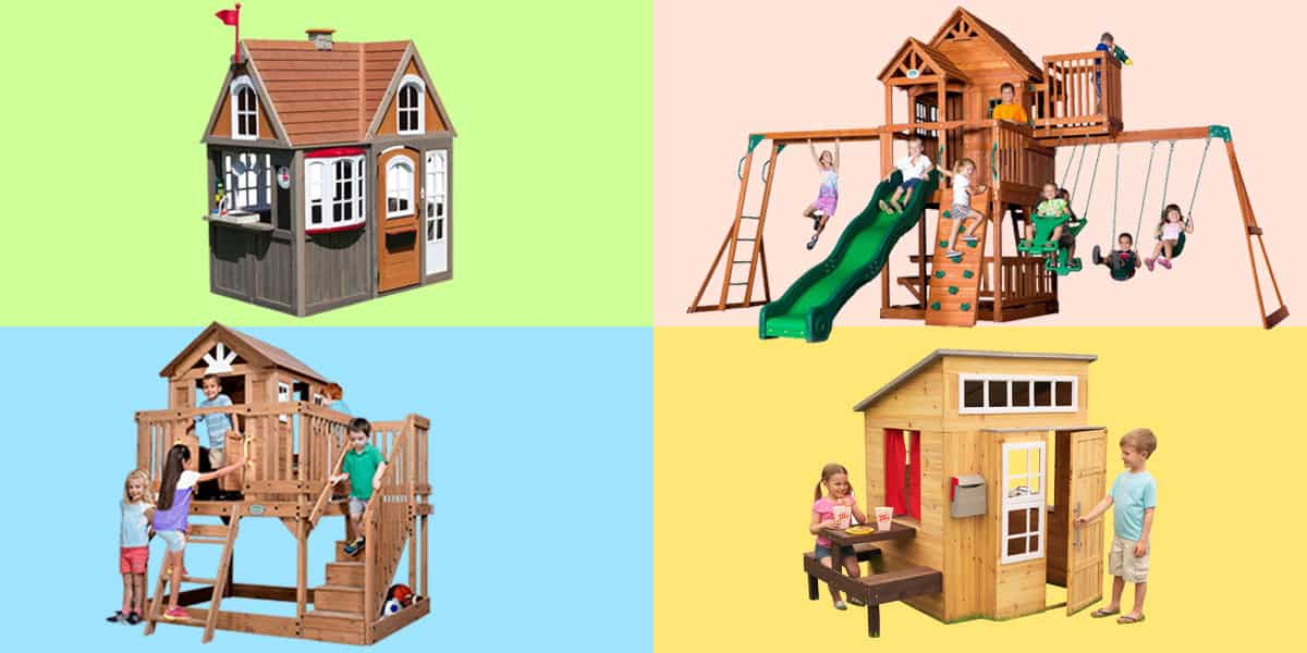 Best wooden playhouses for 4-10 year olds
