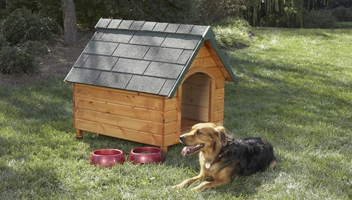 Lowes dog house plans