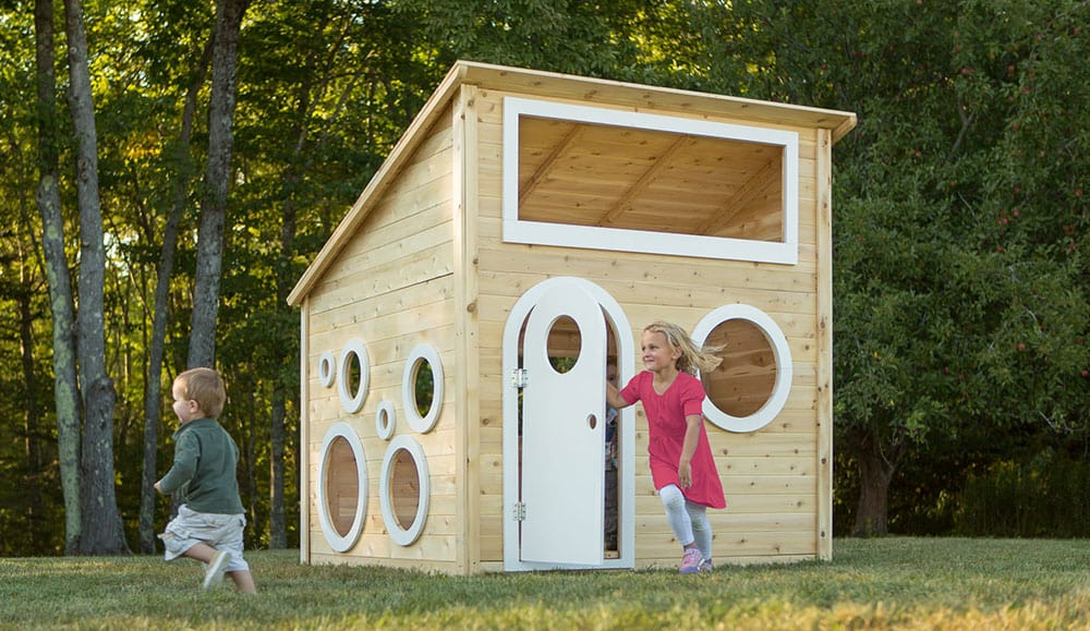 Playhouse 256 by CedarWorks - modern playhouse for big kids