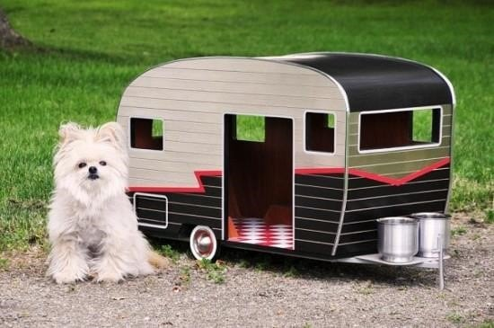 Puppy Camper dog house DIY