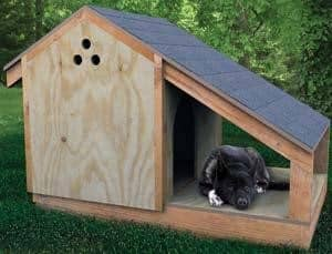 step by step doghouse