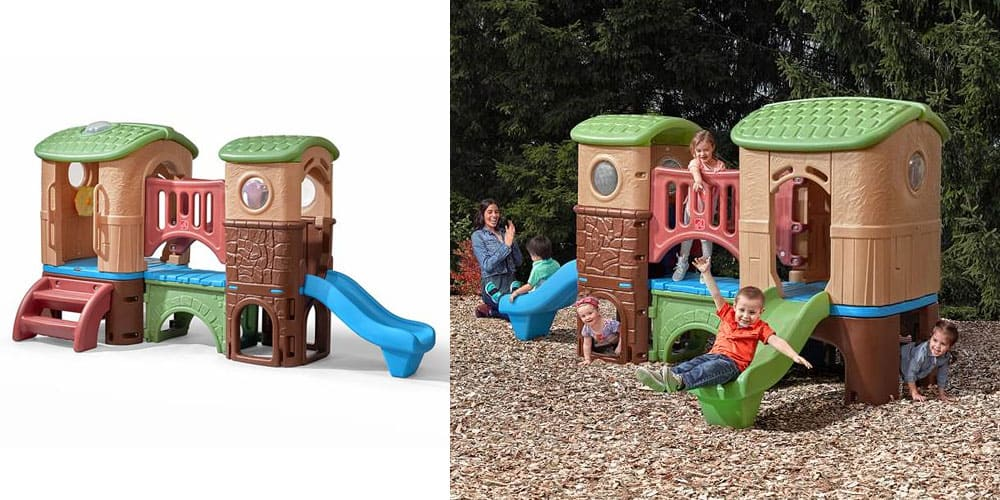 Step2 clubhouse climber playhouse