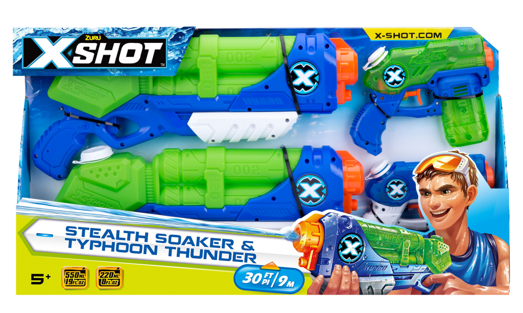X-Shot water gun set