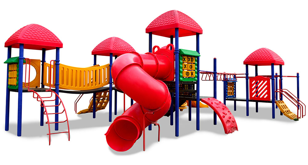 large colorful plastic playset